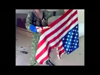 Десантники 7 ВДД вежливо объяснили Джорджу Бушу, что он был не прав в Осетии!