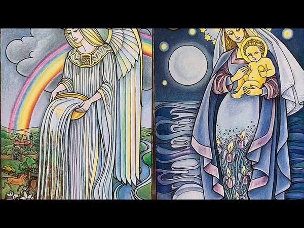 Мощная энерго чистка канала матери Открытие дорог на любовь деньги Колена Messages from the Angels