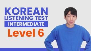 Test Your Korean Listening - TTMIK Level 6