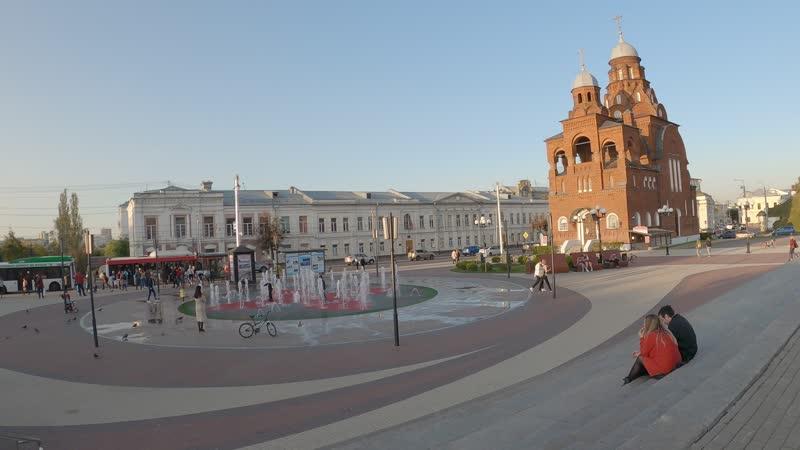 От края до края Владимир с запада на восток через истерический центр БЫСТРО