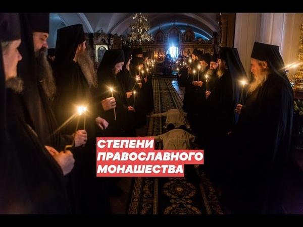 Степени православного монашества Трудник Послушник Инок Монах Схимонах