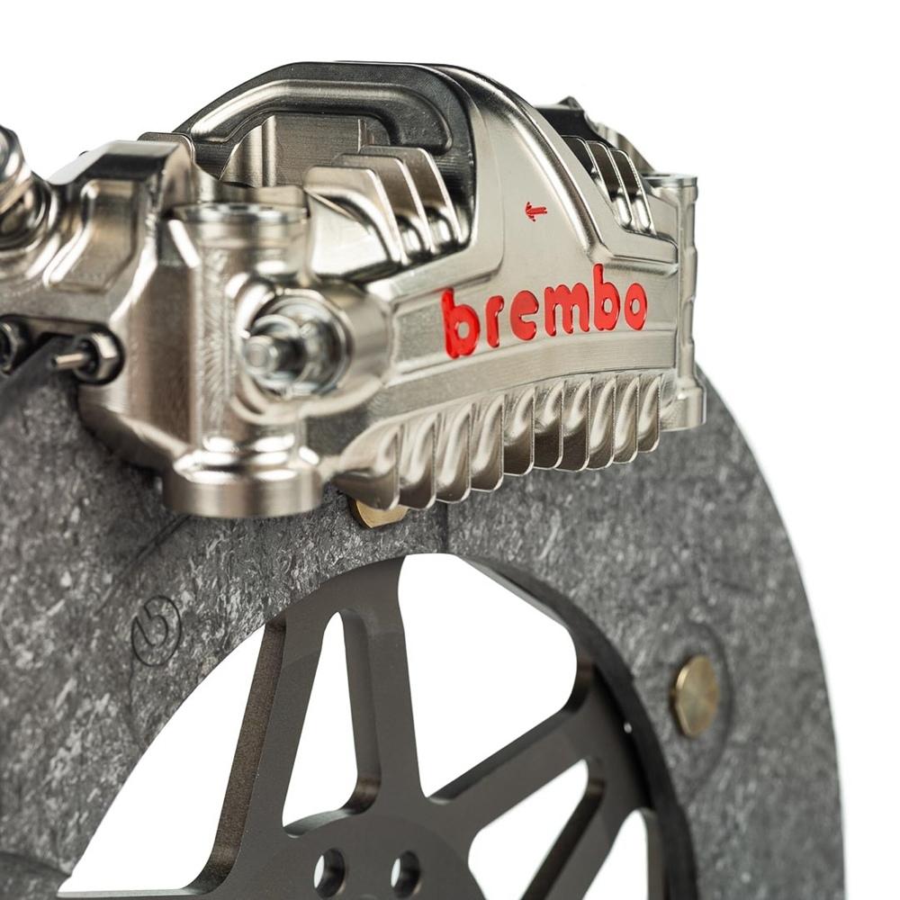 Суппорты Brembo GP4 MotoGP дебютировали в Хересе