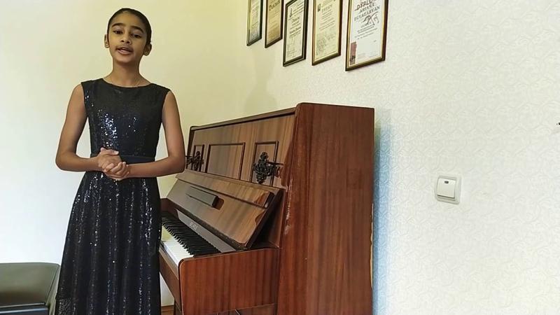 Мир ярких образов и звуков Концерт Арианны Егязарян 12 лет преподаватель Куклина И И 21 05 2020