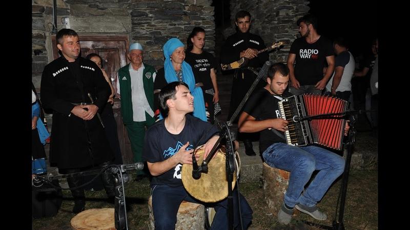 ვაინახური და ქართული ფოლკლორის საღამო ხა430