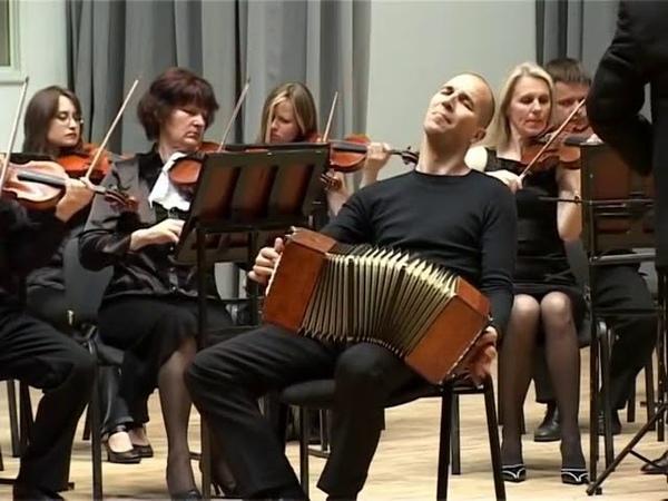 Танго Забвение Oblivion исполняет Марио Стефано Пьетродарки бандонеон февраль 2014