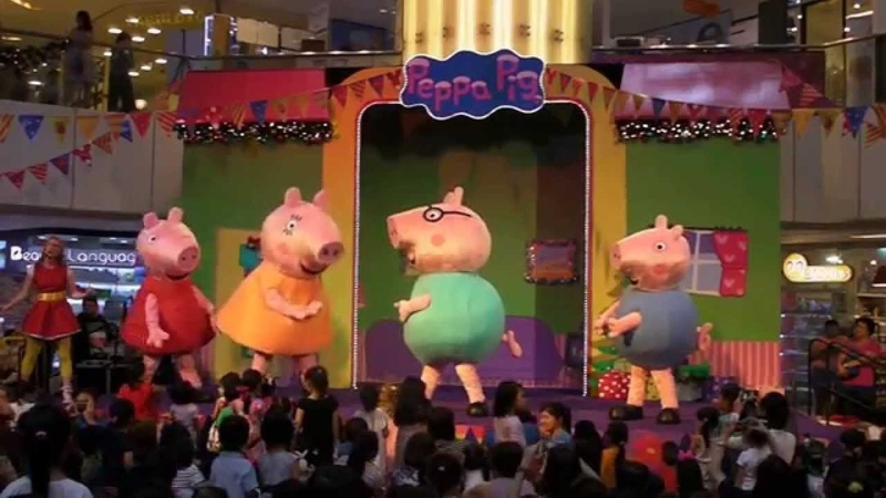 Peppa's Christmas Surprise Peppa Pig Live Show at United Square Mall Singapore