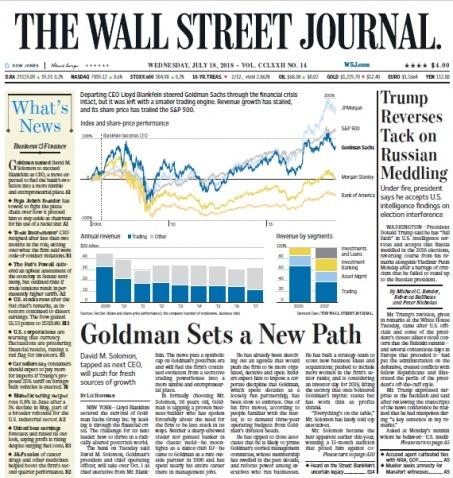 The Wall Street Journal 20180718