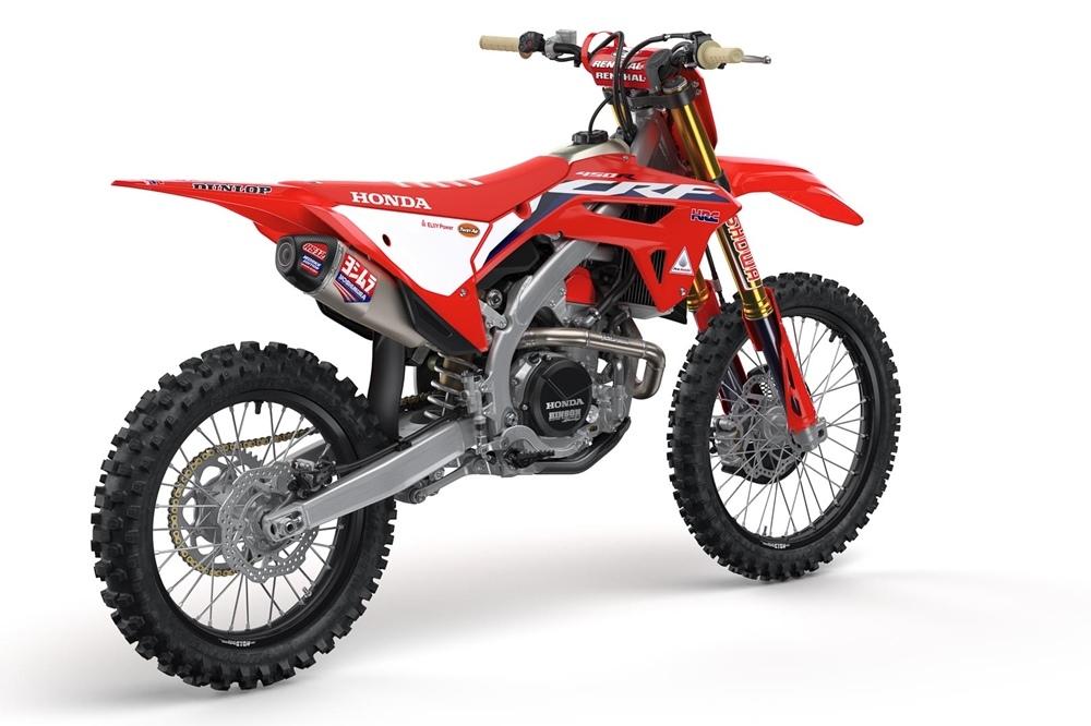 Кроссбайк Honda CRF450R 2021