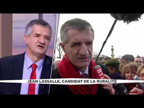 Jean Lassalle sur LCI Je formerai 15 000 apprentis dès l'été 2017
