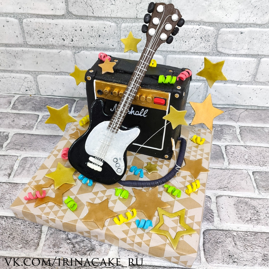 Торт с гитарой (Арт.754)