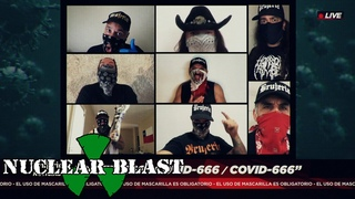BRUJERIA - COVID-666 (OFFICIAL MUSIC VIDEO 2020)