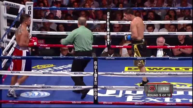 Хосесито Лопес vs Виктор Ортис полный бой 23 06 2012