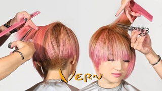 Short Pixie Bob Cut With Bangs For Summer Haircut Tutorial - Wispy / Fringe – Vern Hairstyles 57