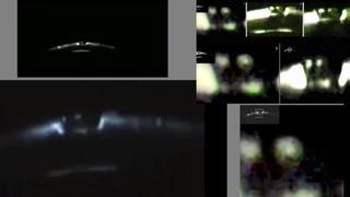 Пришельцы видны на борту НЛО
