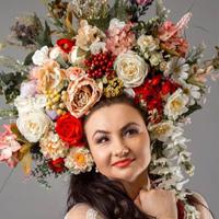 Фотография страницы Олены Білоконь ВКонтакте