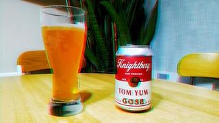 Beer Solo #10 : Knightberg : Tom Yum gose (Пиво из Тайского супа с отсылкой к Энди Уорхолу)