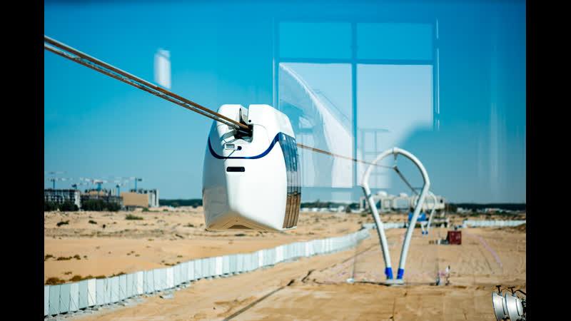 ОАЭ. Строительство инновационного центра SkyWay в Шардже.