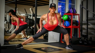 20 minute Real Time No Gym Legs and Bum Workout with Cindy Landolt