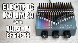 Lottie Canto Colour Palette - Electric Kalimba Demo w/ Effects Pedals