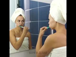 Женские хитрости (vk.com/womantrlck) зубная паста