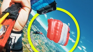 Friday Freakout: Diving Line Twists, Skydivers Nearly Collide Under Canopy
