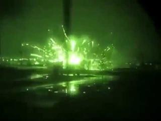 Ночной рейд вертолета Апач в Северном Ираке