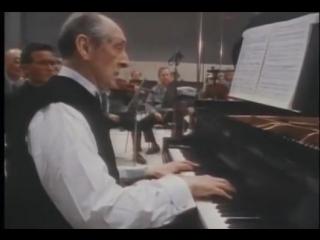 В.Горовиц, Моцарт- Адажио из фортепианного концерта №23/оркестр Ла Скала/ К.М.Джулини