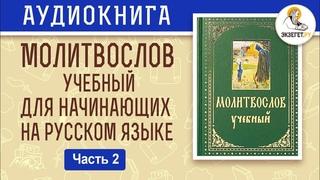 Молитвы перед сном. Молитвослов учебный для начинающих. На современном русском языке. Часть 2.