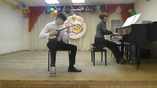 А. Цыганков. Вальс, И.С. Бах. Концерт для скрипки с оркестром a-moll, исп. Саркисов Лев ДШИ8 Калуга