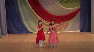 Абдуллаева Михремох и Халепо Полина. «Две подружки». Ансамбль песни «Млада».