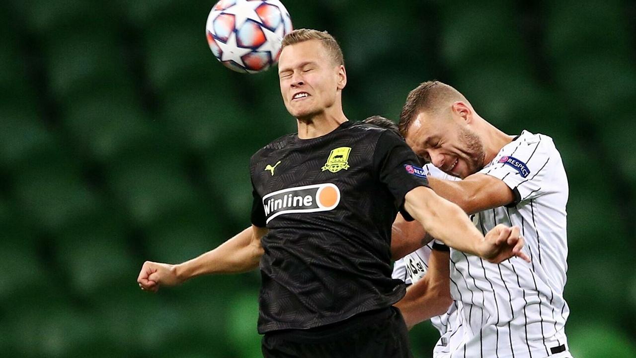 Краснодар - ПАОК, 2:1. Виктор Классон