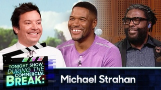 Michael Strahan Squashes His Beef with The Roots During Commercial Break   The Tonight Show