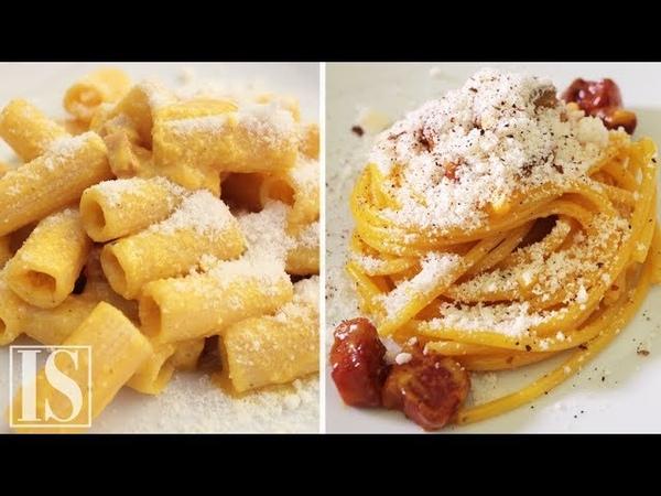 Pasta alla Carbonara 3 ricette di Luciano Monosilio Flavio De Maio e Marco Martini