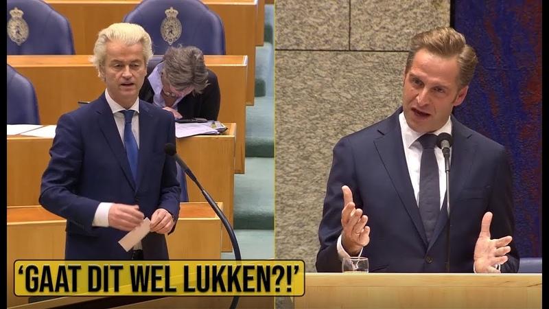 Wilders PVV v Minister De Jonge 'Code zwart kan zomaar om de hoek komen kijken ' Politiek