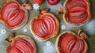 Amazing apple pie / 결이 살아있는 바삭한 애플 파이 만들기 / Crispy Mini Apple Pie Recipe / アップルパイ / से