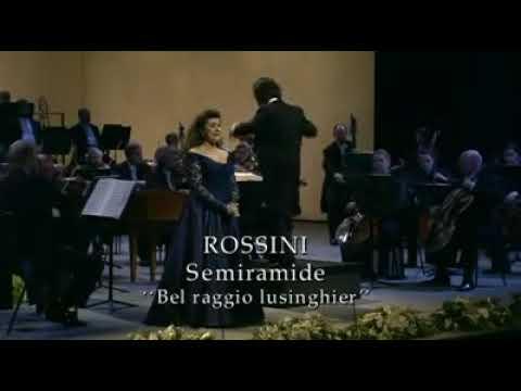 Cecilia bartoli Rossini's Semiramide Bel raggio lusinghier