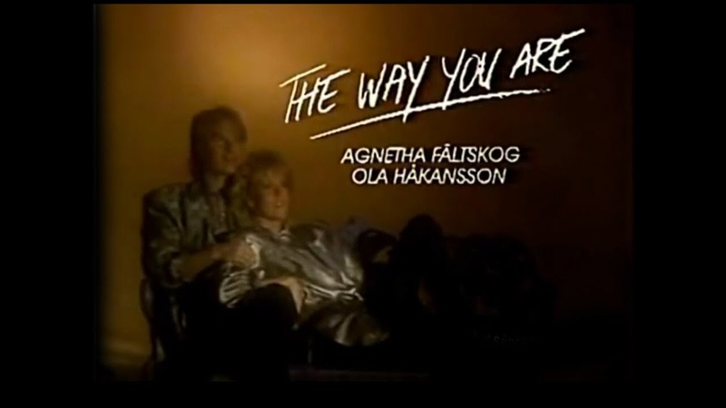 Agnetha Fältskog ABBA Ola Håkansson Secret Service The Way You Are OFFICIAL VIDEO 1985