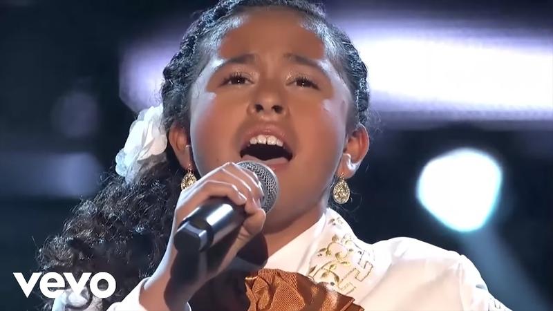 La Voz Kids Alondra Santos Paloma Negra