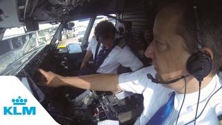 KLM Cockpit Tales: Part 1 - Autopilot in action