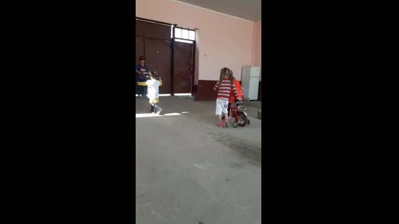 Ернұрдың Алинұрдың туылған күндеріне алған велосипеттер