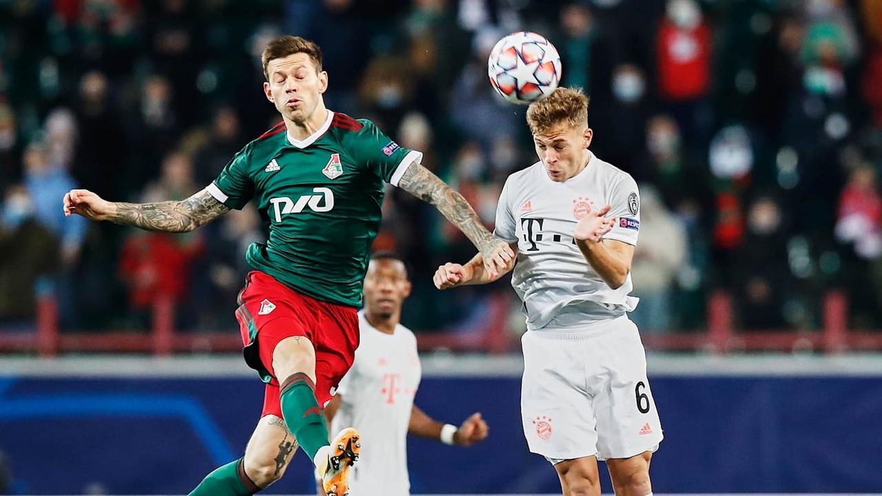 Локомотив - Бавария, 1:2. Федор Смолов и Йозуа Киммих