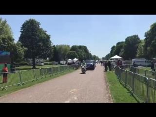 Harry and Meghan have just arrived together in Windsor Castle