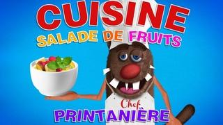 Foufou - La cuisine pour les enfants Série 04 (Learn to prepare a Fruit salad for kids) 4k