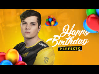 HAPPY BIRTHDAY, PERFECTO