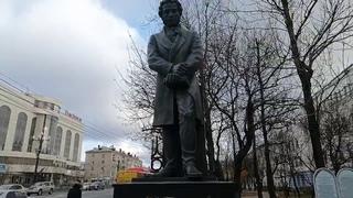 Хабаровск, ул. Карла Маркса\Дикопольцева\Пушкин\столпотворение в 3-й поликлинике\консульство КНДР