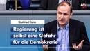 Gottfried Curio über Fake News beim Thema Extremismus