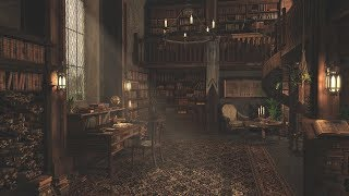 Library Sounds | Study Ambience | 2 Hours