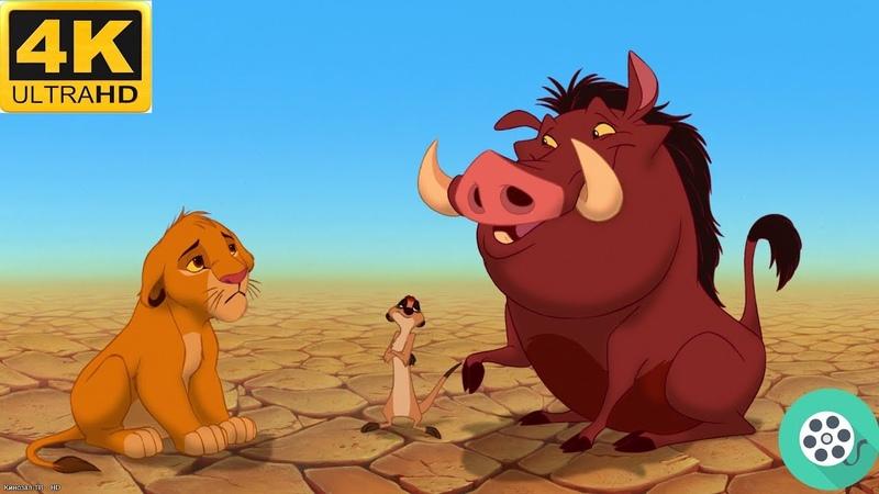 Тимон и Пумба находят Симбу Король лев 1994 год
