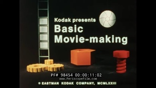 "KODAK "" BASIC MOVIE MAKING "" 1973 SUPER 8mm CAMERA, FILMMAKING & EDITING EDUCATIONAL FILM  98454"
