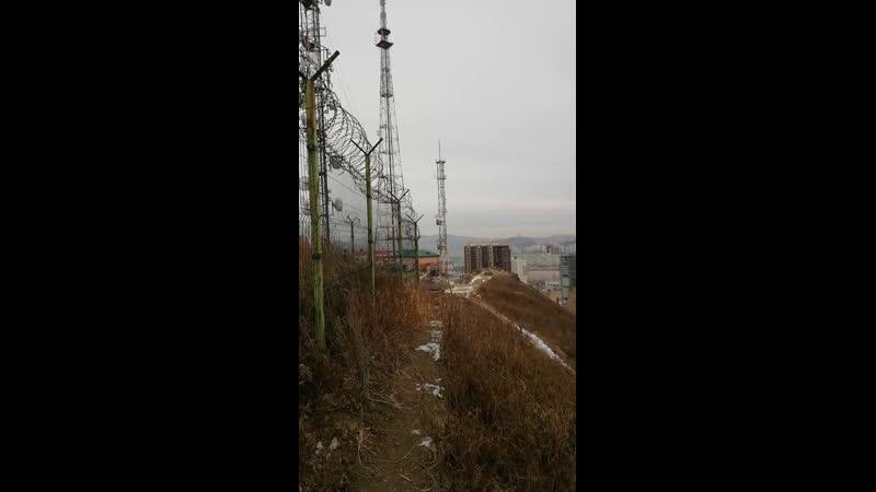 Владивосток с сопки Орлиное Гнездо